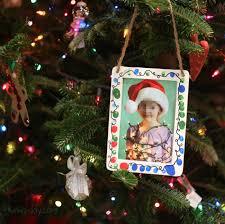 this fingerprint christmas lights photo frame makes the best gift
