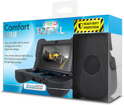 new 3ds xl black friday amazon com dreamgear comfort grip protection for your new