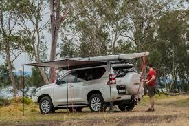 Rhino Rack Awnings Rhino Rack Throws Some Trailhead Shade With New Sunseeker Vehicle