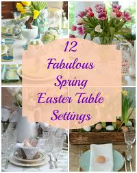 sunday brunch 12 spring easter table settings mythirtyspot