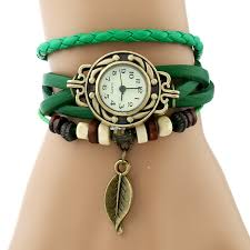 girls leather bracelet images Gnova platinum classic genuine leather bracelet watch women jpg