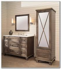 Kitchen Bathroom Vanities With Matching Linen Cabinets Cabinet - Incredible bathroom linen cabinets white home