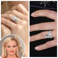 reese witherspoon engagement ring we compare carey and more