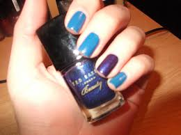 plucky kelly tardis blue u2013 doctor who inspired nails