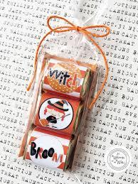 Pretzel Bags For Favors It U0027s Written On The Wall Halloween Kids Hershey Nugget Wraps