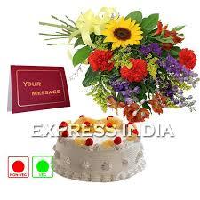 buy birthday card flowers and cake happy birthday online best