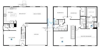 Dr Horton Cambridge Floor Plan Grandview Model In The Cambridge Lakes Subdivision In Pingree