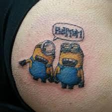 batman minion tattoo 67 best minion tattoo images on pinterest minion tattoo minion