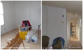 mobile home interior trim q did you remove all the battens trim from your walls and