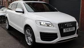 Audi Q7 Gold - 32k buys you a v12 tdi audi q7 with the same torque as a pagani huayra