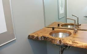slab sink wood slab sink m o d f r u g a l