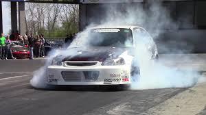 Is The Honda Civic Si Turbo 180mph 1000hp Honda Civic Tpr Turbo Track Beast Drag Racing Youtube