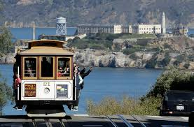 Cable Car Map San Francisco Happy Wanderer For A Special S F Trip Try Nob Hill