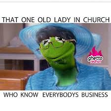 old church lady meme dust off the bible