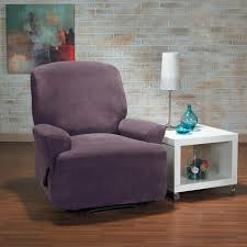 Side Table For Recliner Chair Decor U0026 Tips Update Your Furniture With Recliner Slipcover