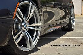 replica bmw wheels bmw e60 5 series rides on f10 m5 replica wheels autoevolution