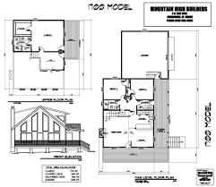 floor plans custom home building from mountain high builders model 1700 floor plan