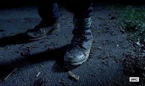 motorcycle in boots the walking dead u0027 who is the person wearing the boots business