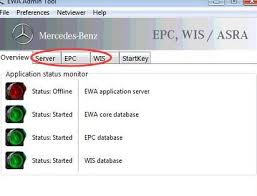 mercedes wis asra epc not display webpage blocked by security settings