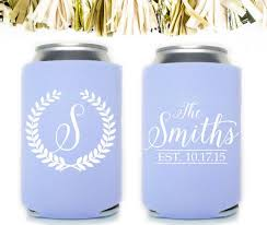 wedding koozie ideas best 25 wedding koozies ideas on personalized wedding