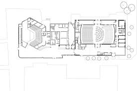 Concert Hall Floor Plan Colyer Fergusson Concert Hall Architecture Today