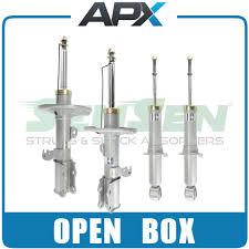toyota corolla struts buy sensen open box front rear shocks struts for 03 08 toyota