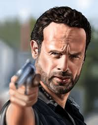 rick grimes hairstyle rick grimes by gros darius cristian on visualart