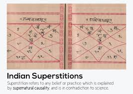 common superstitions indian superstitions on behance