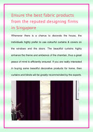 Best Fabric To Use For Curtains Ensure The Best Fabric Products From The Reputed Designing Firms