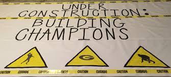 playoff run through banner cheerleading pinterest banners