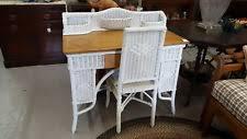 Rattan Desk Chair Wicker Desk Ebay