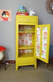 armoire vintage chambre petit meuble rétro revisité banaborose com meuble vintage