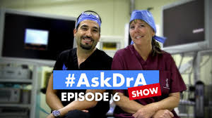 the askdra show episode 6 chewing gum counting carbs hair