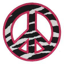 peace sign applique gg designs embroidery
