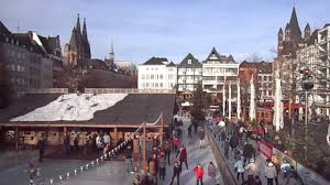winter market cologne germany