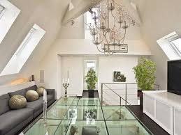 floor design loft apartment glass floor design home inspiration building