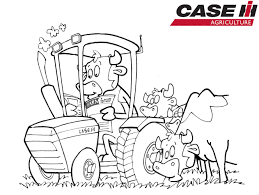 tractor coloring pages combine tractor colouring pages in combine