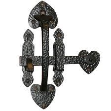 black ornamental suffolk gate latch gate extras tate fencing