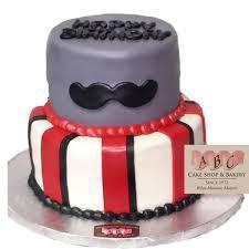 mustache birthday cake 1959 2 tier mustache birthday cake abc cake shop bakery