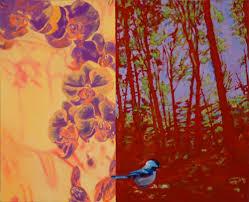dan gottsegen wisdom of the birds artwork from penny u0027s apartment