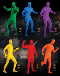 Invisible Halloween Costume Discount Scary Zentai 2017 Scary Zentai Sale Dhgate