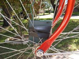How To Hang Christmas Lights by Lights On A Bike How To Install Christmas Lights On Bicycle Wheels