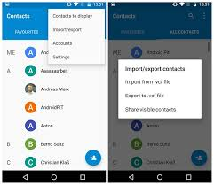 transfer contacts android to android how to transfer everything to your new phone androidpit