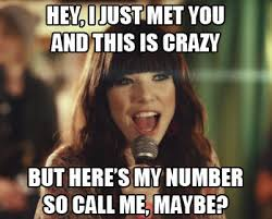 Call Me Maybe Meme - image 358396 call me maybe know your meme