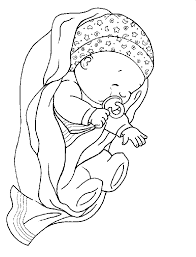 baby coloring pages baby coloring