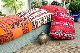 canapé coussin de sol coussins de sol élégant coussin de sol marocain la déco épurée de