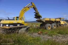 dump truck services in los angeles ca la excavating inc