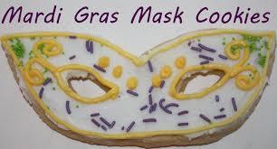 mardi gras cookies mardi gras sugar cookie mask