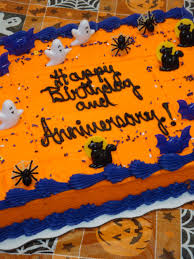Spider Cakes For Halloween File Halloween Birthday And Anniversary Cake With Spiders And