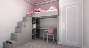 chambre en mezzanine chambre lit mezzanine lit fille mezzanine chambre avec lit